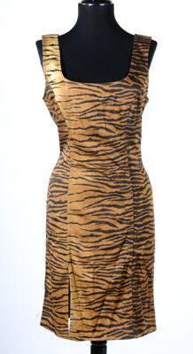Moschino - animal print dress
