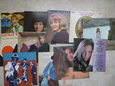 Famous Lady Singers  from the sixties -  Various Artists - lot of eleven  (11) LP's