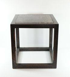 Josef Hoffmann - Cube-shaped table
