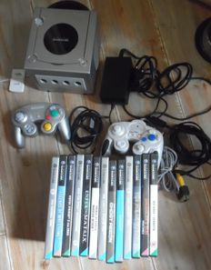 Gamecube platinum incl 2 controllers and 13 games
