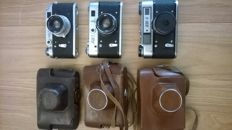 FED-2, FED-3 and FED-5 - Small-format rangefinder cameras (1955-1980)