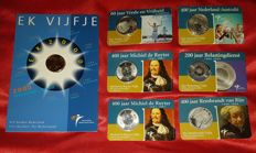 Netherlands - 7 x €5 in coin card - Various commemorations