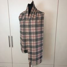 Burberry - Very Big Lambswool Scarf - 2 Meters long!