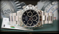 Rolex  Daytona 116520 – Serial number: F7XXXXX – Never Polished – Black dial