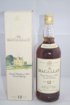 The Macallan 12 years old - 1 Litre - Single Speyside Malt Scotch Whisky