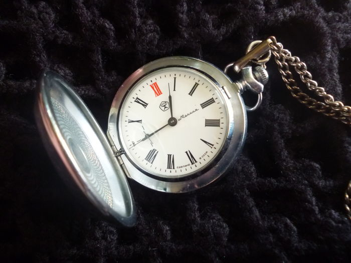 MOLNIJA – USSR pocket watch – 1970s