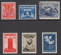 The Netherlands 1925/1936 – Selection of plate flaws