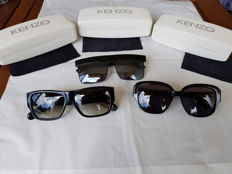 Lot - 3 . Kenzo Sunglasses - New - Never Used  - No reserve price