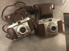 Two cameras - Kodak and Agfa.