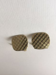 14 kt yellow gold vintage cufflinks