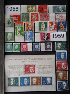 Federal Republic of Germany 1958/2000 – Collection in stock book