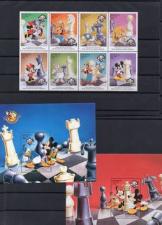 Walt Disney – stamps and sheets