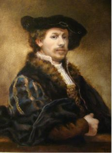 "Unknown (21th century) - ""Rembrandt"""