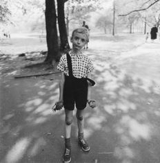 Diane Arbus (1923 - 1971) - 'Child with toy hand grenade' - Central Park - New York - 1962