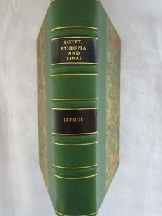 Lepsius, Dr. Richard - Letters from Egypt, Ethiopia, and the peninsula of Sinai - 1853