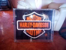 Old methacrylate Neon Harley Davidson Clothes