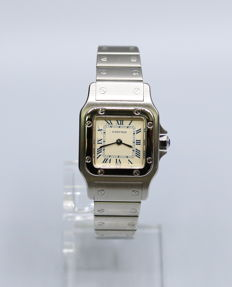 Cartier Santos Ladies Galbée Ref. 2423 - Women's Watch - 1998