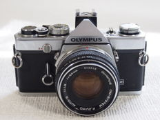 Olympus OM 1 with F.Zuiko 1.8/50 mm