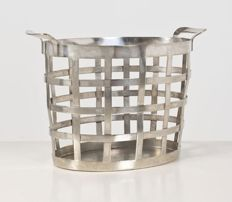 Gio Ponti (1891-1979) - citrus basket in silver-plated nickel silver, Krupp, Milan