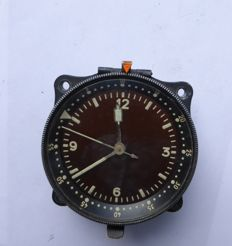 German. Cockpit clock by Schenkler-Grusen - WW2