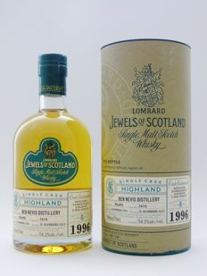 Ben Nevis 1996 - Independent Bottler - Lombard Scotch Whisky