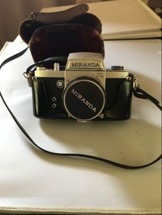 Miranda FVT with original case and lens - 1966