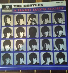 A Hard Day's Night, The Beatles, near mint first pressing  PMC 1230, XEX 481/482