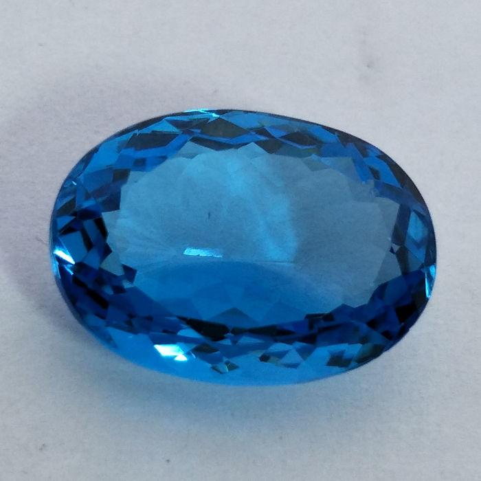 Swiss Blue Topaz - 8.82 ct