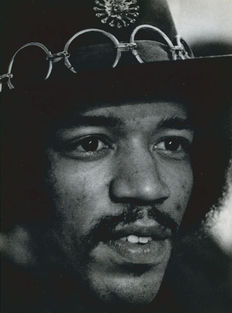 Douglas Kent Hall (1938-2008)/Avanti Press - Jimi Hendrix - 1964