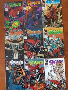 Collection Of Image Comics - Various Spawn Comics - Including Spawn #1 + More - x75 SC - (1992/2000).