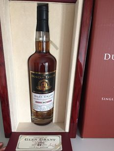 Glen Grant 22 years old 1992 - Duncan Taylor Single serie