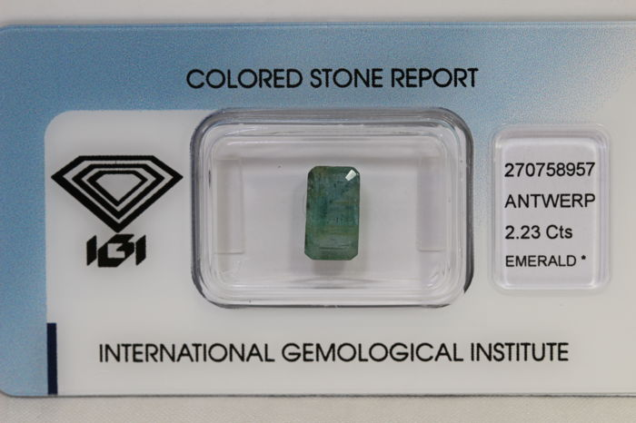 Emerald – 2.23 ct – No Reserve Price