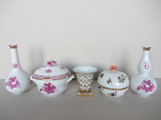 Herend porcelain - 5 items