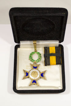 Numismatic - Portuguese Distinction, silver and enamel, 20th century