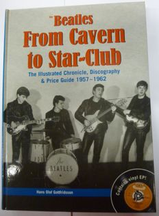 "Book ""From Cavern to Star club"" ,including hard to find record"