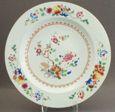 Fencai double plate - China - around 1760