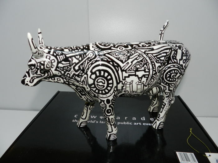 Cowparade - Machine Cow - Artista Mucio Nunes