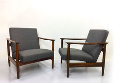 Edmund Homa – A Pair Of GFM-142 Armchairs