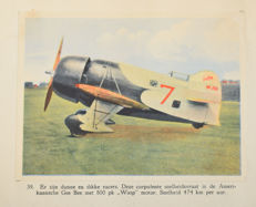 Pictures albums; Lot with 6 albums about aircraft - 1936/1950