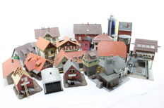 Scenery H0 - Set with 20 different houses and buildings