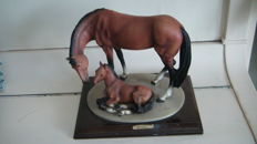 DEAR horse and pony A. Belcari collectors item