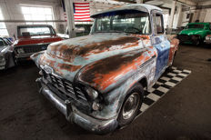 Restoration piece, 1957 Chevrolet 3100 Stepside Shortbed - 4 manual gears