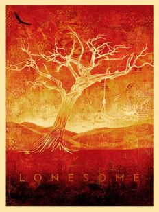 Shepard Fairey (OBEY) - Tom Dula White (Lonesome White)