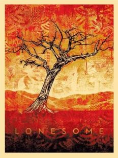 Shepard Fairey (OBEY) - Tom Dula Black (Lonesome Black)