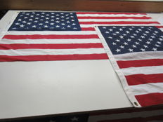 2 PCs U.S.A. flags.