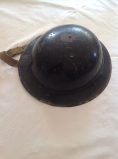 Steel Tommy type helmet, from the United Kingdom