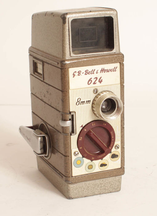 Bell & Howell 624 double 8 film camera