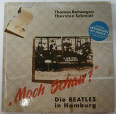 "The Beatles :Book  ""Mach Schau "" including the hard to find single"