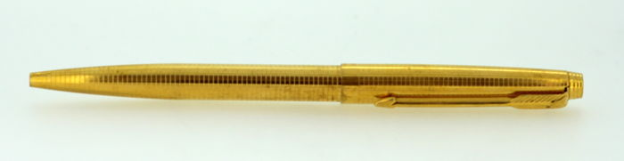 Vintage Parker ball point pen, 14k Gold Filled cap and barrel, USA