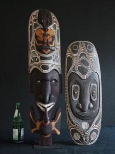 Decorative Wall Masks - Chambri Lake - Papua New Guinea